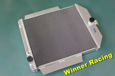 56mm aluminum radiator for Ford F1-F8 truck/pickup w/chevy L6/V8 motor swap AT