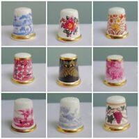 Wedgwood Porcelain Thimble Collectors Club TCC Museum Collection Vintage c1997