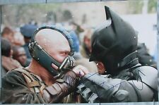 CHRISTIAN BALE & TOM HARDY SIGNED 11x17 PHOTO DCCOA THE DARK NIGHT RISES (PROOF)