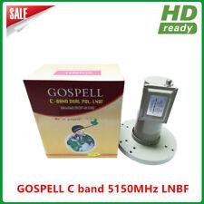 GOSPELL GCF-3100 LNB Digital HD C Band Single 5150MHz LNBF