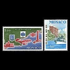 "Monaco 1978 - Environment Protection ""RAMOGE Agreement"" Map Ship - Sc 1111/2 MNH"