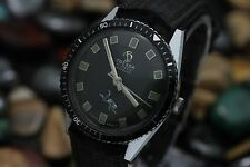 Vintage TRESSA 17j Hand Wind Incabloc 34.5mm Men's 5ATM Skin Diver's Watch