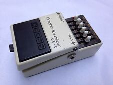 VINTAGE BOSS GE-6 GRAPHIC EQUALIZER PEDAL JAPAN MADE 1978 RARE