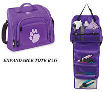PET TRAVEL GROOMING EXPANDABLE TOOL Clipper Blade Storage CASE Tote Utility BAG