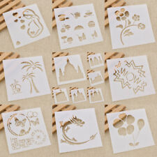 Stencils Airbrush Drawing Mask Decoration Spray Template Tool Scrapbooking