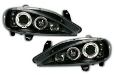 FAROS ANTES AV ANGEL EYES NEGRO RENAULT MEGANE 1 PH2 1999-2002 BERLINA COUPE