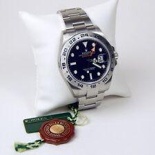 Rolex Explorer II GMT 216570 Stainless Steel Gent's Wristwatch A3881
