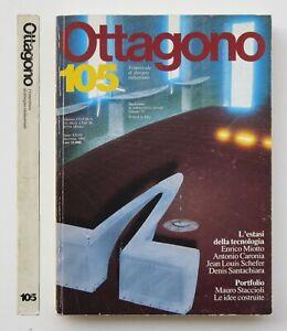 Ottagono 105 | Denis Santachiara, Mauro Staccioli, Design e tecnologia | 1992