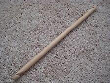 16 inch Bamboo double ended Tunisian Afghan crochet hook end Q 15 mm Jumbo