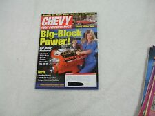 Chevy High Performance Magazine ~ December 2002 ~ Big-Block Power! Rat Motor Mad