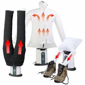 Hosenbügler: 2in1-Bügelpuppe inkl. Hosen-Aufsatz und  Schuhtrockner-Aufsatz