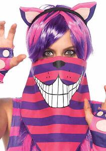 Cheshire Cat Bandana Costume - halloween Alice in Wonderland