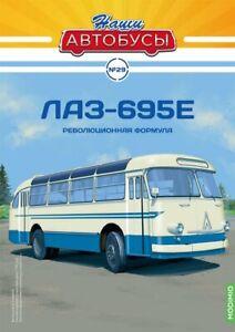 1:43 Bus LAZ-695E Magazin Modimio №29 USSR, Russia