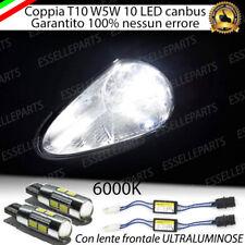 COPPIA LUCI POSIZIONE 6 LED GRANDE PUNTO EVO + SPEGNI SPIA 100% NO AVARIA LUCI