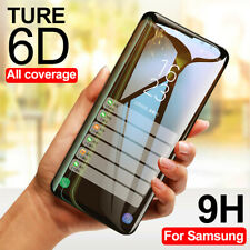 6D Full Cover Tempered Glass Screen Protector For Samsung Galaxy Note 9 S9 Plus