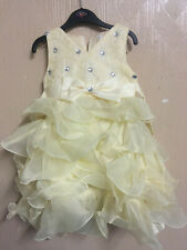 Ourlove Dress Kids Evening Gown First Communion Dresses for Girls with Bow Belt