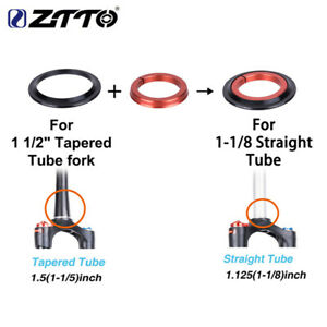 "ZTTO Professional 4252ST MTB Headset 42/52mm 11/8""-11/2"" Tapered fork Straight"