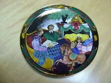 "Royal Copenhagen Colorful Christmas Tales Plate 1995  ""JULEEVENTYR"""