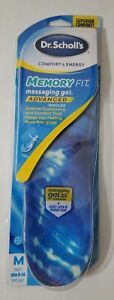 Dr. Scholl's Messaging Gel Advanced  Memory Fit Insoles Mens 8-14