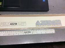 PEUGEOT 205 AZTEC TRANSFER KIT A5218 car badge decal motive tailgate 3 & 5 door