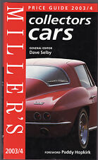 MILLER'S PRICE GUIDE : COLLECTORS CARS  2003 / 4  car valuation guide  cu