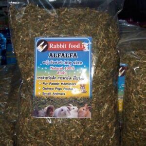 500g natural Alfalfa hay feed rabbit hamster guinea pig rodent small animal food