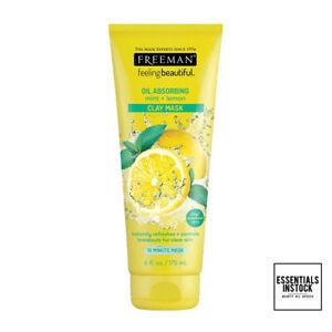Freeman Feeling Beautiful Mint and Lemon Clay Mask 175ML