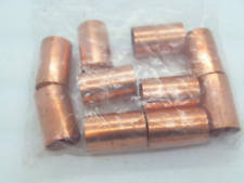 """Nibco Copper 1"""" Cup Coupling -- LOT OF 10"""