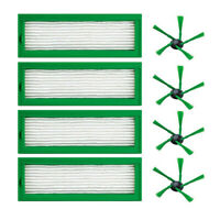 Side Brush Hepa Filters Parts For Vorwerk Kobold VR200 VR-200 Vaccum Cleaner