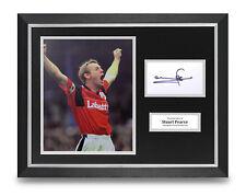 Stuart Pearce Signed 16x12 Framed Photo Display Nottingham Forest Memorabilia