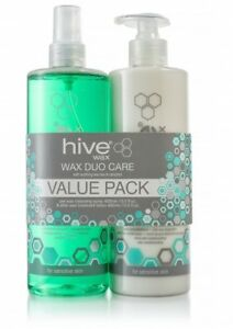 Hive of Beauty Wax Duo Pack Pre Wax Spray and After Wax Lotion (SAMEDAYDISPATCH)
