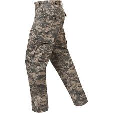ACU Digital Camouflage, Military BDU Pants, Medium
