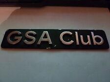 Sigle insigne logo aluminium CITROEN GS GSA CLUB ORIGINE