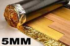 Novostrat Sonic Gold 5mm Laminate Underlay - 1 Roll 15m² + FREE VAPOUR TAPE!