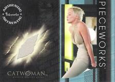 CATWOMAN - THE MOVIE - SHARON STONE AS LAUREL HEDARE PIECEWORK CARD - PW13