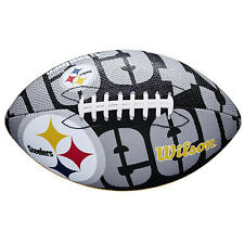 NFL Pittsburgh Steelers Team Logo Junior Football Kids Wilson