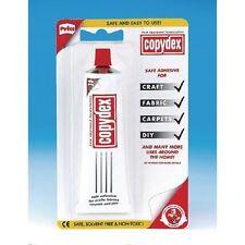 Copydex TUBO 50ml BLISTER ADESIVO DI LATTICE Craft Colla Tappeto Tessuto Materiale Fai Da Te
