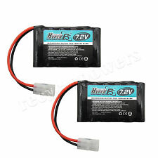 2x 7.2V 6*AA 1800mAh NI-MH HyperPS Rechargeable Battery Pack with Tamiya Plug