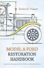 Model A Ford Restoration Handbook~disassembly~overhaul~body repair~wiring~NEW!