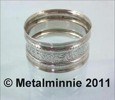 Birmingham 1850-1899 Antique Silver Napkin Rings/Clips