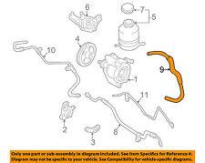 TOYOTA OEM 97-00 RAV4 Pump Hoses-Steering-Reservoir Hose 4434842011