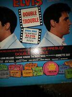 ELVIS PRESLEY * DOUBLE TROUBLE ORIGINAL SOUNDTRACK LP * APL1-2564