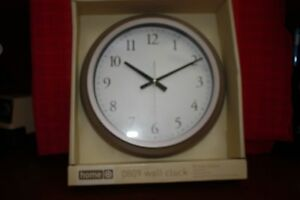 Decorative Wall Clock - 10-Inch Home - Brand New Never Opened