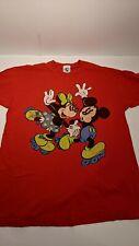 New listing Mickey & Company Vintage T-shirt Single Stitch, Mickey & Minnie Mouse on Skates