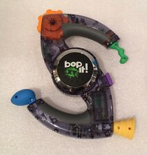 Bop It! XT Electronic Handheld Game Hasbro 2010 Clear Onyx Black Transparent