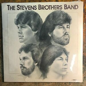 THE STEVENS BROTHERS BAND s/t LP 80's Country VINYL Record SEALED!
