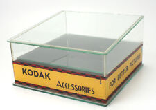 KODAK DEALER DISPLAY CASE FOR ACCESSORIES, MADE OF GLASS/cks/192800