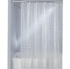 InterDesign® Ripplz Eva Clear Vinyl Shower Curtain