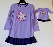 American Girl Matching Girls and Dolls Ruffled Nightgown 18