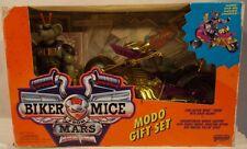 Biker Mice From Mars Modo Gift Set - Chromotanium Mondo Chopper Galoob (Retied)